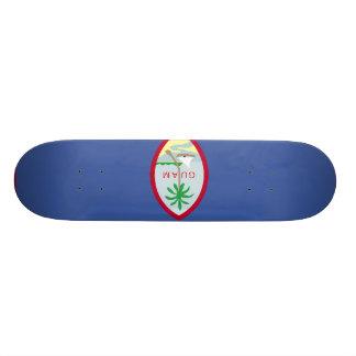 Guam Flag Custom Skateboard