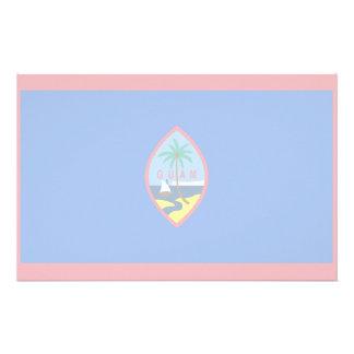 Guam Flag Stationery Design