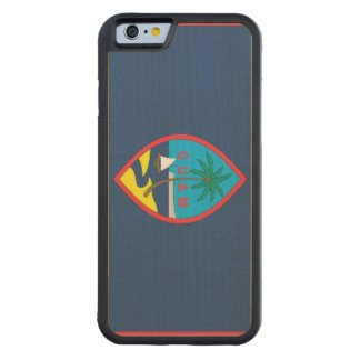 GUAM FLAG CARVED® MAPLE iPhone 6 BUMPER CASE