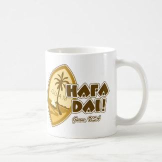 Guam Hafa Dai Classic White Coffee Mug