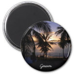 Guam Imán Redondo 5 Cm