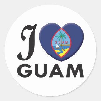 Guam Love Stickers