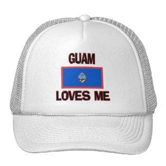 Guam Loves Me Trucker Hats