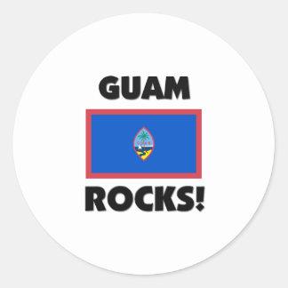 Guam Rocks Stickers