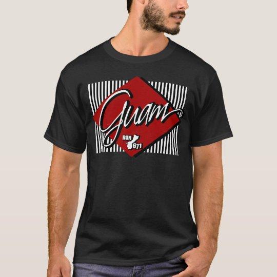 GUAM RUN 671 Flight Home T-Shirt
