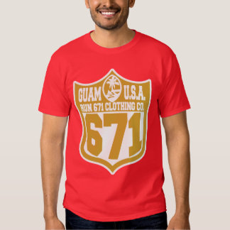 GUAM RUN 671 Friscocity Playoff Tshirts