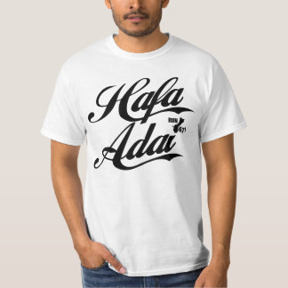 GUAM RUN 671 Hafa Adai - Black Font T-Shirt