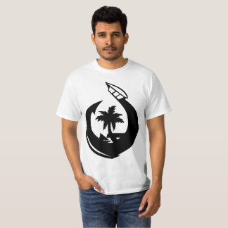 GUAM RUN 671 Hook & Seal Black T-Shirt