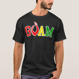 GUAM RUN 671 Island Reggae Hook T-Shirt