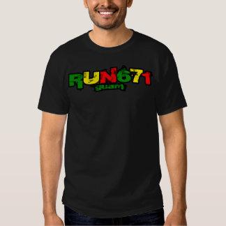 GUAM RUN 671 Reggea Rasta Tribes Shirt