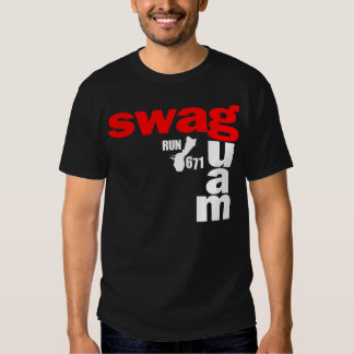 GUAM RUN 671 SWAGGED OUT CHICAGO T SHIRT
