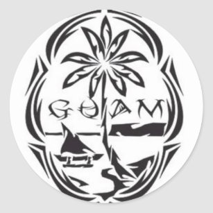 of guam envelope seals zazzle Vactaion Guam guam seal