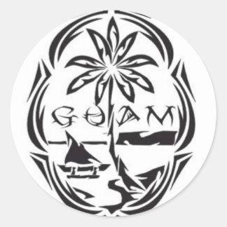 Guam seal sticker