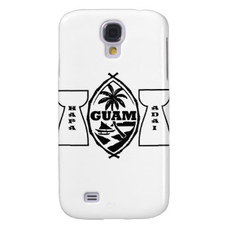 Guam seal with latte stones samsung galaxy s4 covers