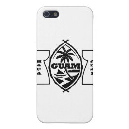 Guam seal with latte stones cover for iPhone SE/5/5s