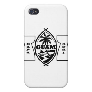 Guam seal with latte stones cover for iPhone 4