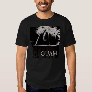 Guam shirt in black