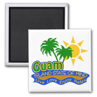 Guam State of Mind magnet
