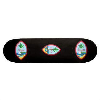 Guam State Seal Skate Decks