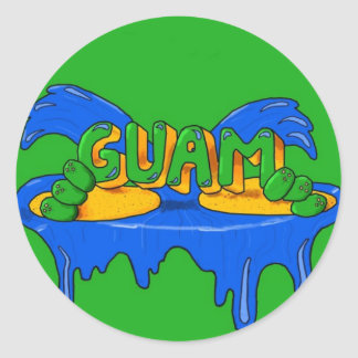 Guam Sticker