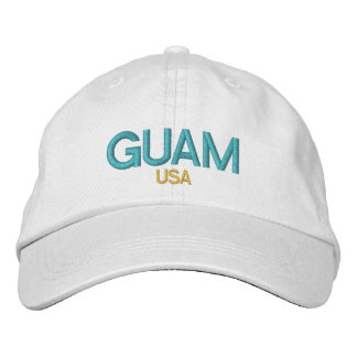 Guam USA Embroidered Hat