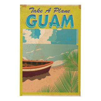 Guam Vintage Travel Poster