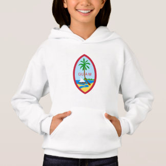 Guamanian  coat of arms hoodie