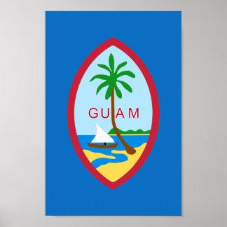Guamanian  coat of arms poster