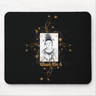 Guan Yin Bodhisattva Mouse Pad