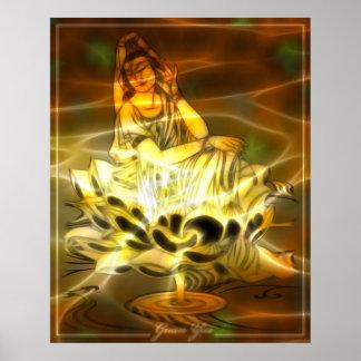 Guan Yin Energy Poster