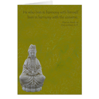 Guan Yin Harmony Card