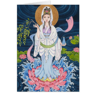 Guan Yin note card