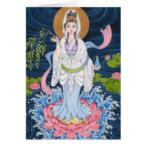 Guan Yin note card