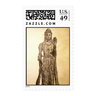 Guan Yin Postage Stamps