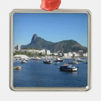 Guanabara Bay in Rio de Janeiro Metal Ornament