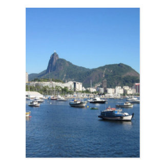 Guanabara Bay in Rio de Janeiro Postcard