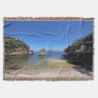 Guanabara Bay In Rio De Janeiro Throw Blanket