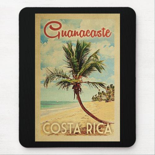 Guanacaste Palm Tree Vintage Travel Mouse Pad
