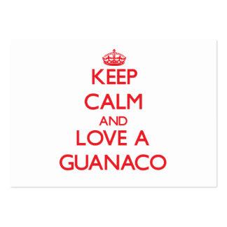 Guanaco Plantillas De Tarjeta De Negocio