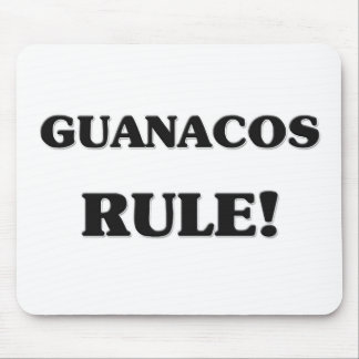 Guanacos Rule Mouse Pads