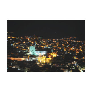 Guanajuato at night canvas print