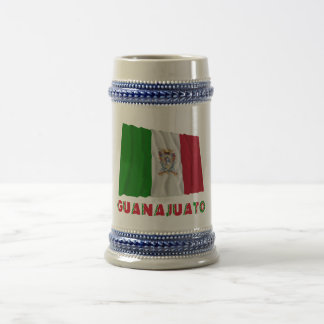 Guanajuato que agita la bandera oficiosa tazas de café