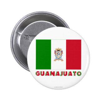 Guanajuato Unofficial Flag Pinback Button