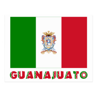 Guanajuato Unofficial Flag Post Card