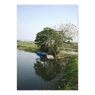 Guandu Nature Park, Guandu, Taipei County, Taiwan 5x7 Paper Invitation Card
