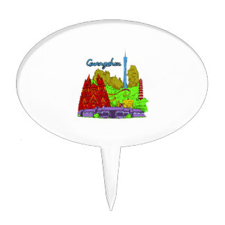 guangzhon city graphic buildings.png cake topper
