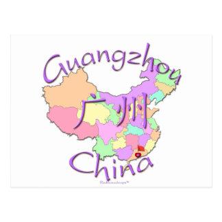 Guangzhou China Tarjeta Postal