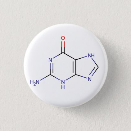Guanine Molecule Button