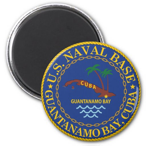 Guantanamo Bay, Cuba 2 Inch Round Magnet