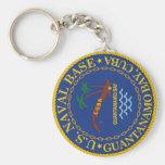 Guantanamo Bay, Cuba Basic Round Button Keychain